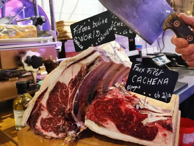 L'Auberge cachena, cave de maturation, restaurant, boucherie, steakhouse, viande d'exception, viande maturée, côte à l'os, dryage, mouvaux, lille, hauts de france