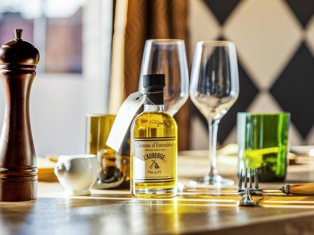 L'Auberge de Mouvaux huile d'estoublon