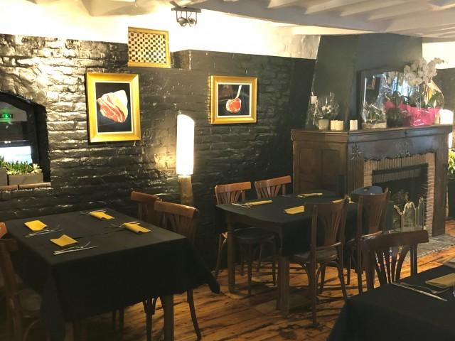 L'Auberge de Mouvaux salle du restaurant